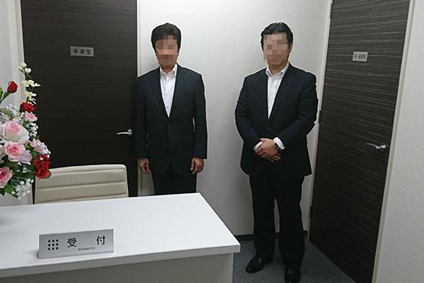 K部長(左)とMチーフプランナー(右)
