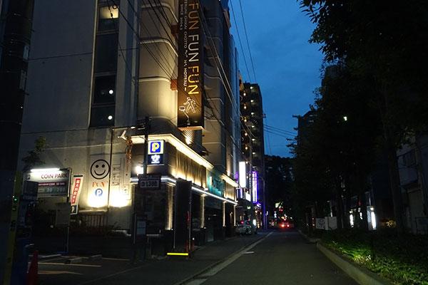 関内のホテル街